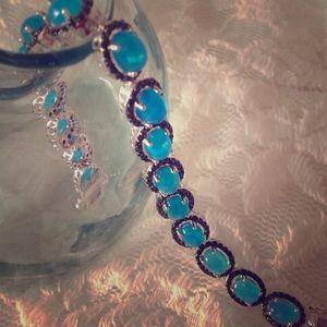 Jewelry - 💎 🆕 ETHIOPIAN BLUE OPAL & Black Spinel 💎